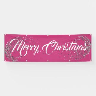 Indoor Outdoor Custom Banner-Merry Christmas Banner