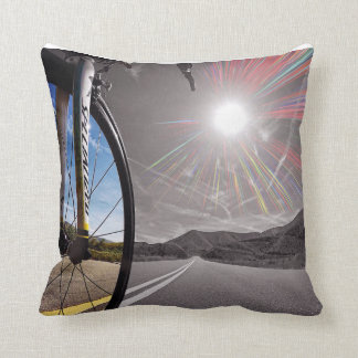 Indoor/outdoor Fikeshot Pillow. Throw Pillow