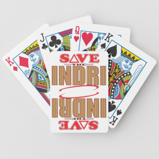 Indri Save Bicycle Playing Cards