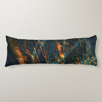 Industrial Abstract Metal Artsy Body Pillow