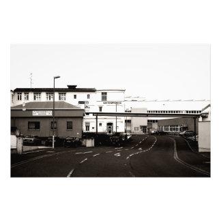 Industrial area photo print