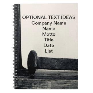Industrial Art Spiral Notebook