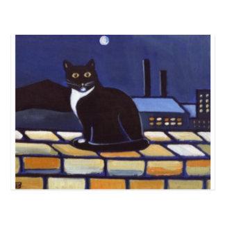 Industrial Cat Postcard