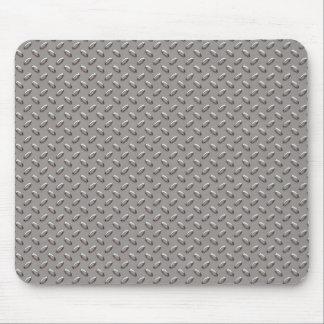 Industrial Diamond Metal Plate Mouse Pad
