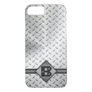 Industrial Diamond Pattern Metal iPhone 8/7 Case