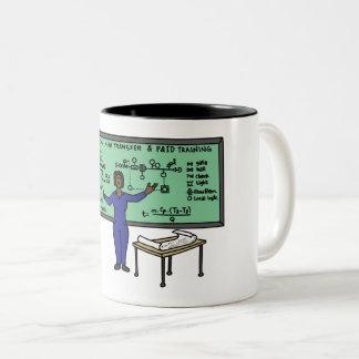 Industrial Engineering Women Rule coffee cup