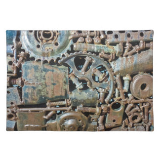 Industrial Gear Texture Placemat