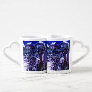 Industrial HDR photography - Steel Plant 2 Coffee Mug Set