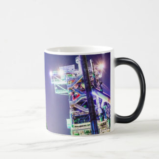 Industrial HDR photography - Steel Plant 2 Magic Mug