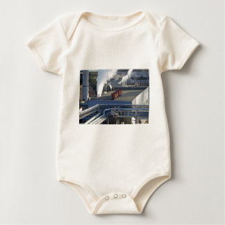 Industrial infrastructure, buildings and pipeline baby bodysuit