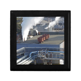 Industrial infrastructure, buildings and pipeline gift box