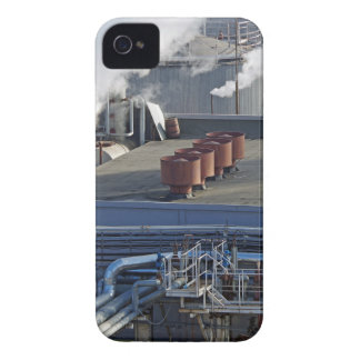 Industrial infrastructure, buildings and pipeline iPhone 4 case