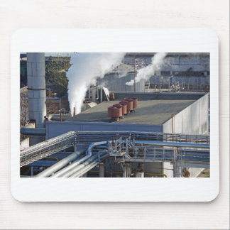 Industrial infrastructure, buildings and pipeline mouse pad