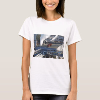 Industrial infrastructure, buildings and pipeline T-Shirt