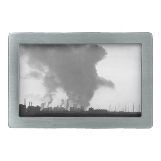 Industrial landscape along the coast belt buckle