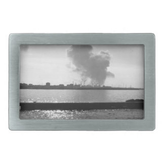 Industrial landscape along the coast belt buckles