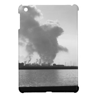 Industrial landscape along the coast case for the iPad mini