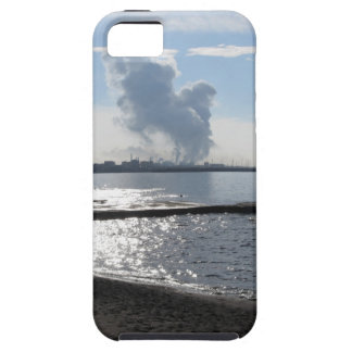Industrial landscape along the coast iPhone 5 cases