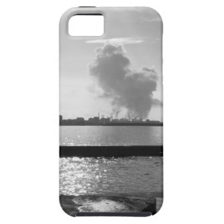 Industrial landscape along the coast iPhone 5 cover