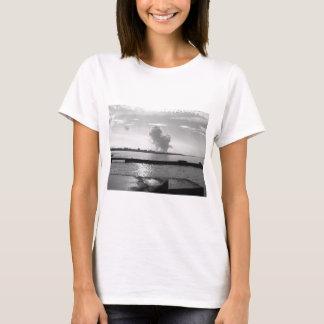 Industrial landscape along the coast T-Shirt