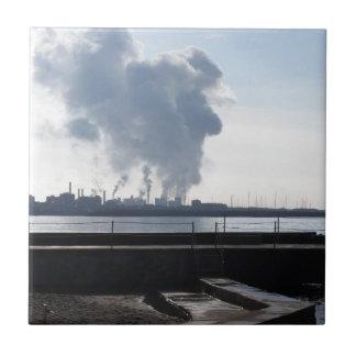 Industrial landscape along the coast tile