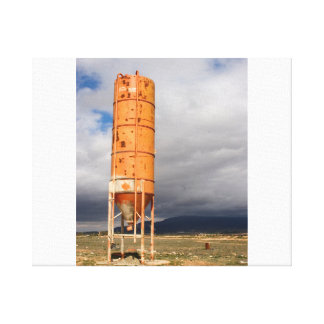 Industrial landscape canvas print