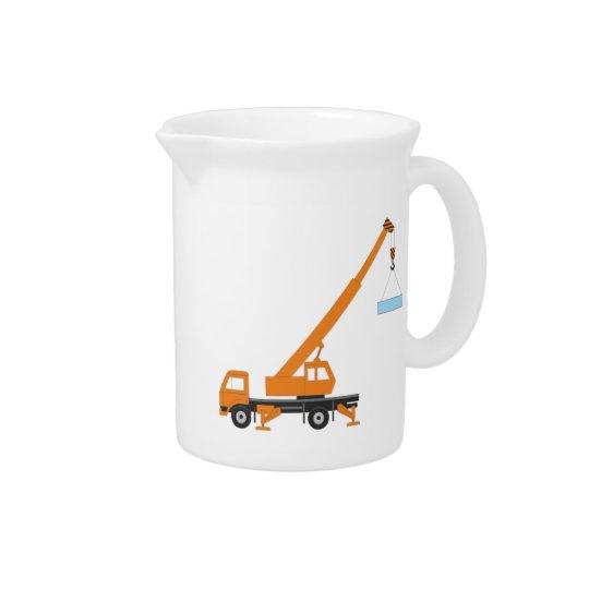 Industrial Lifting Crane Beverage Pitcher