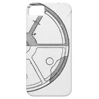 Industrial Mechanical Gears Ephemera Print iPhone 5 Cases