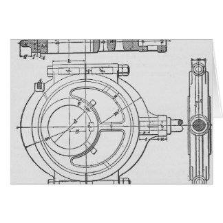 Industrial Mechanic's Gears Graphic Card