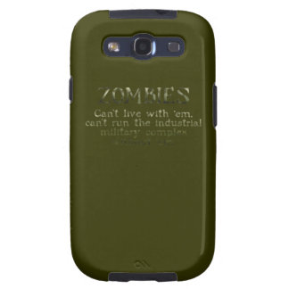 Industrial Military Complex Zombies Samsung Galaxy SIII Covers