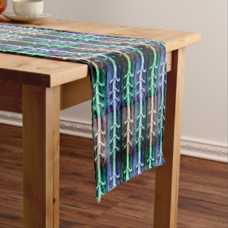Industrial Minimalism Colors Abstract Design - Short Table Runner