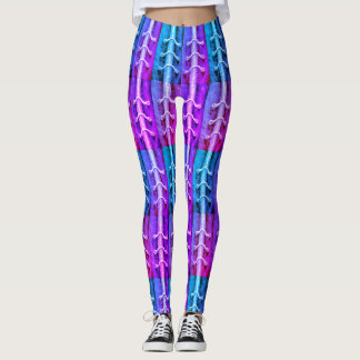 Industrial Minimalism Colors Abstract  Miami Leggings