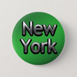 Industrial New York - On Green 2 Inch Round Button