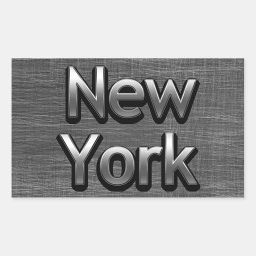 Industrial New York - On Urban Grey Stickers