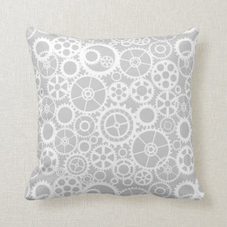 Industrial pattern throw pillow