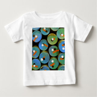 Industrial peacock baby T-Shirt