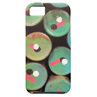 Industrial peacock dull case for the iPhone 5