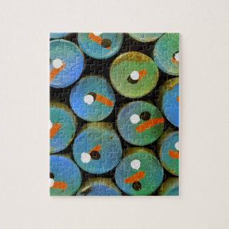 Industrial peacock jigsaw puzzle