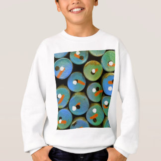 Industrial peacock sweatshirt