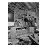 Industrial Photo - Sawmill Band Saw Poster