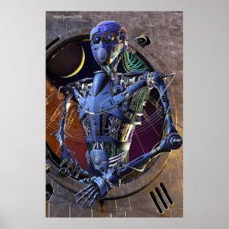 Industrial portrait poster