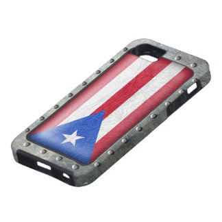 Industrial Puerto Rican Flag iPhone 5 Cover