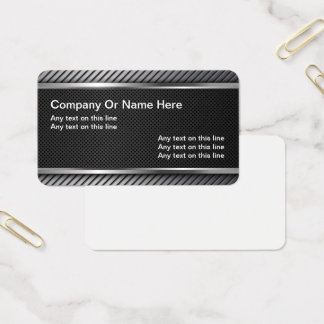 Industrial Quality Business Card