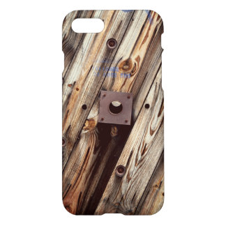 Industrial Rustic Wood iPhone 8/7 Case