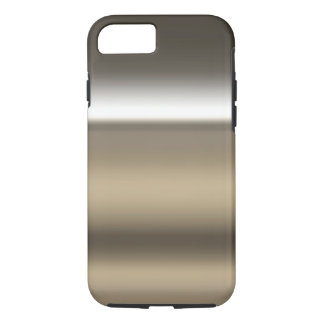 Industrial Stainless Steel Print Background iPhone 7 Case