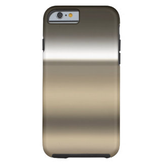 Industrial Stainless Steel Print Background Tough iPhone 6 Case