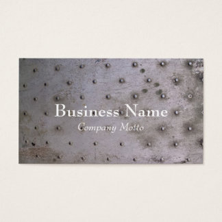 Industrial steel sheet metal business card