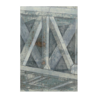 Industrial Structure | Bridge Acrylic Wall Art