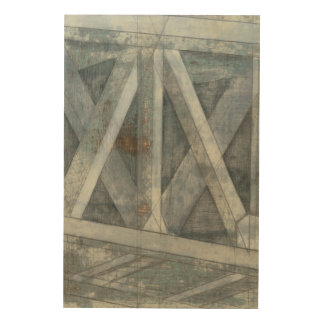 Industrial Structure | Bridge Wood Print