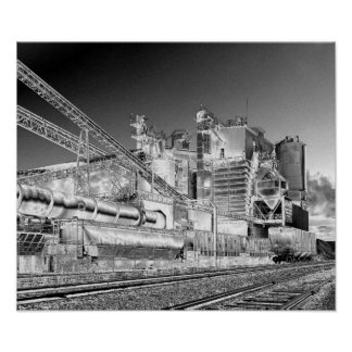 industrial tracks poster